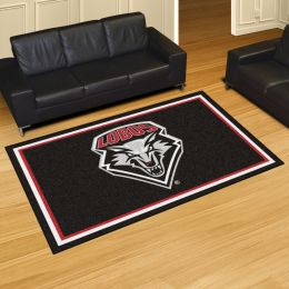 University of New Mexico Lobos Area Rug – 5 x 8