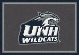 New Hampshire UNH Wildcats Spirit Area Rug - College Logo Mat