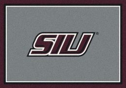 Southern Illinois University Nylon Spirit Area Rug