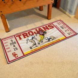 Southern California Trojans Ticket Runner Mat - 29.5 x 72