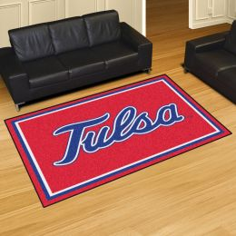 University of Tusla Golden Hurricane Area Rug – 5 x 8