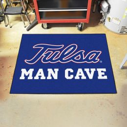 TU Golden Hurricanes Man Cave All Star Mat - 34 x 44.5
