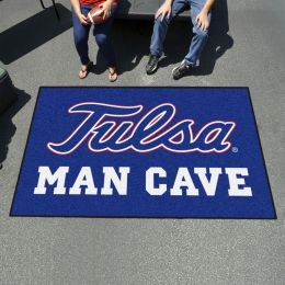 University of Tulsa Man Cave Ulti-Mat - Nylon 60 x 96