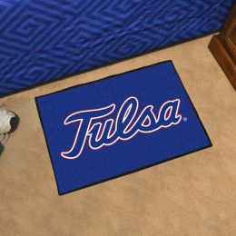University of Tulsa Golden Hurricanes Logo Starter Doormat