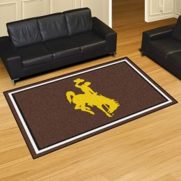 University of Wyoming Cowboys and Cowgirls Area Rug – 5 x 8