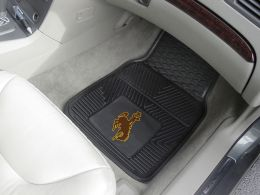 University of Wyoming  2pc Heavy Duty Vinyl Car Mat Set