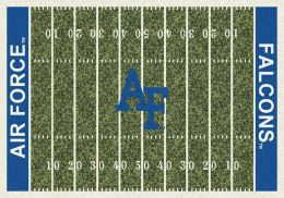 Air Force Falcons Home Field Area Rug - Football Logo