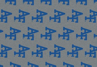 Air Force Falcons Repeat Logo Area Rug - College Mat