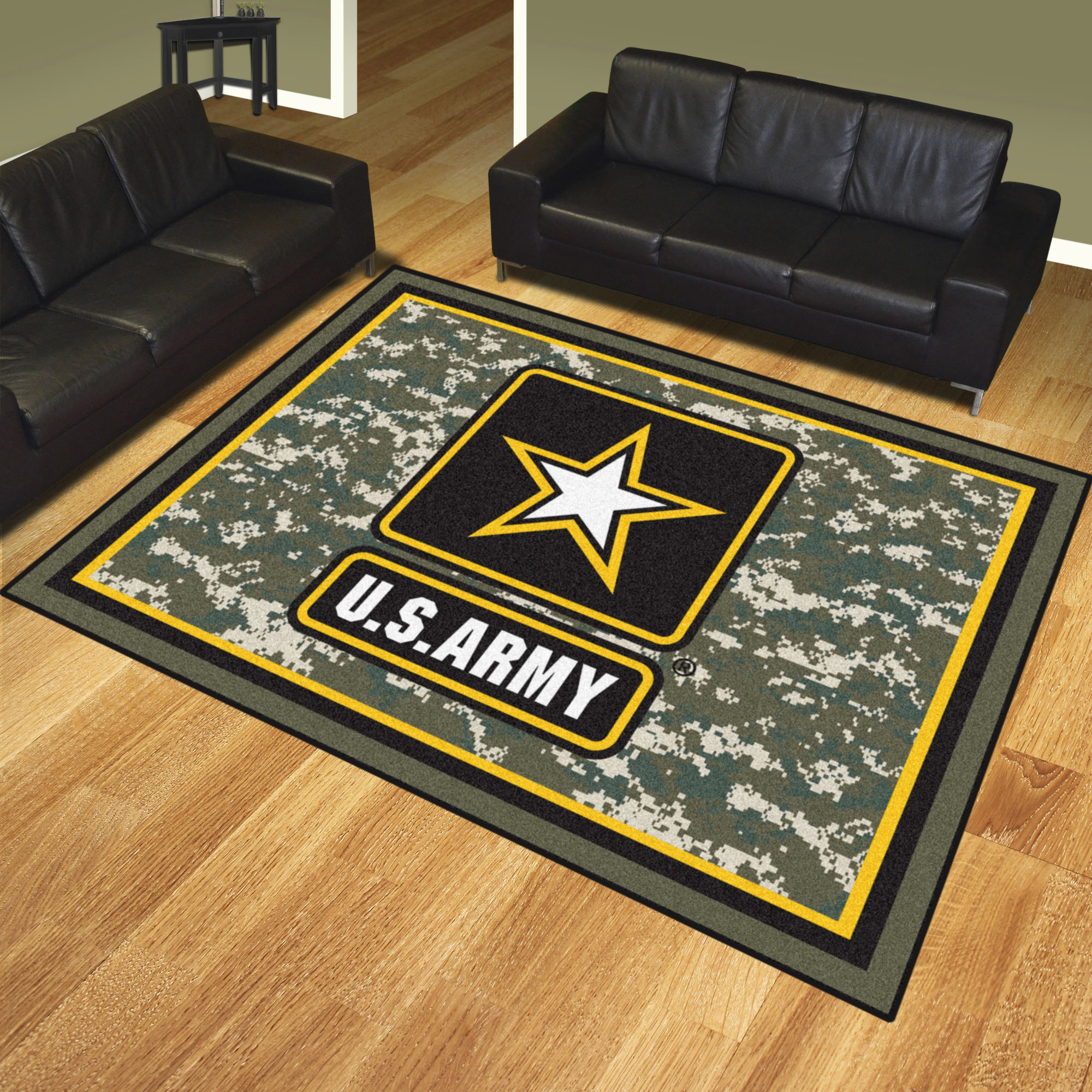 Us Army Area Rug Nylon 8 X 10