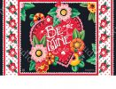 Indoor & Outdoor Valentine Be Mine MatMate Doormat-18x30