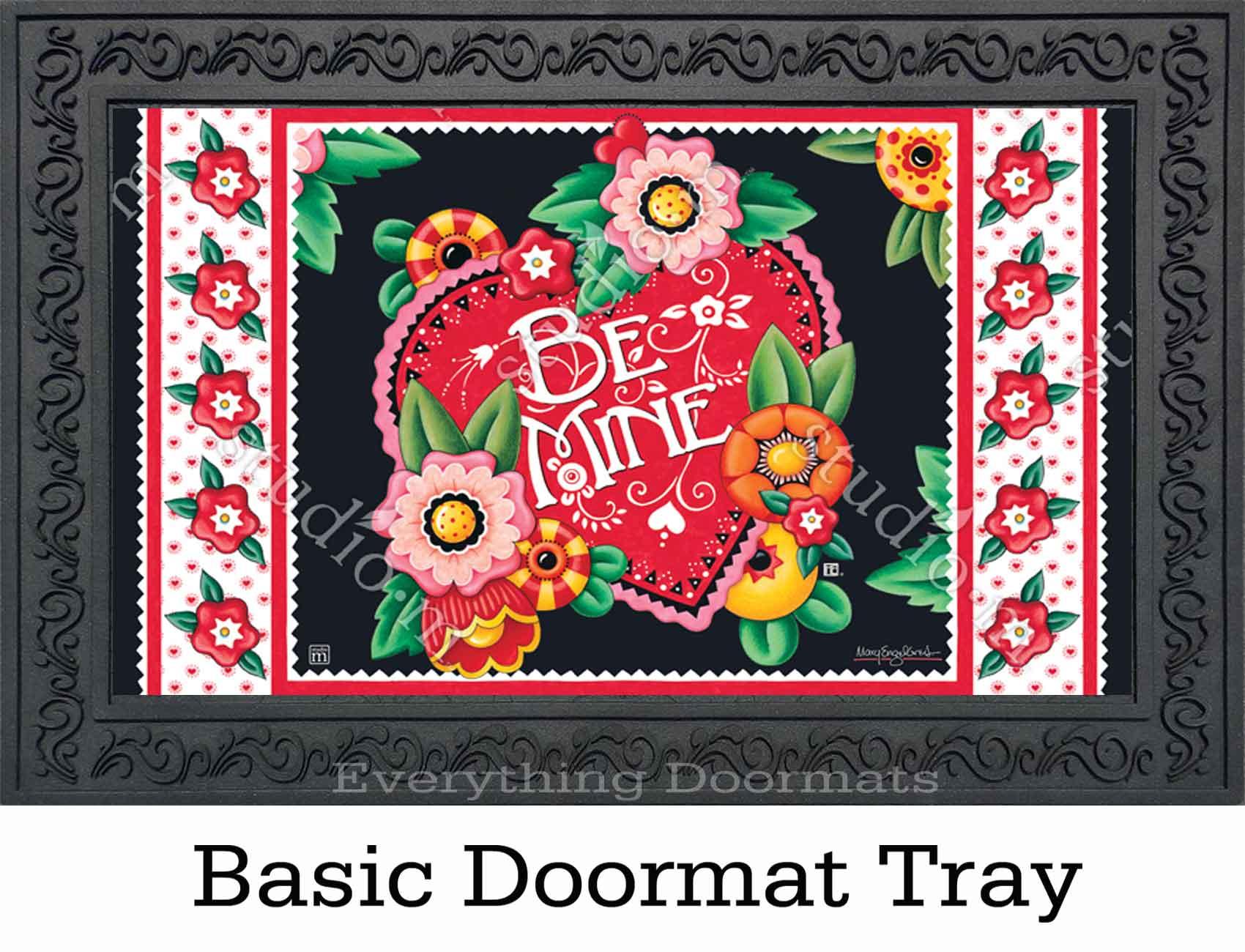 Indoor Amp Outdoor Valentine Be Mine Matmate Doormat 18x30