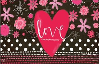 Valentine Love Indoor & Outdoor MatMate Doormat - 18 x 30