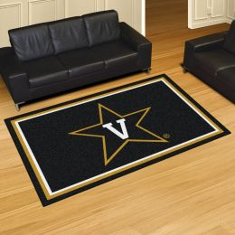 Vanderbilt University Commodores Area Rug – 5 x 8