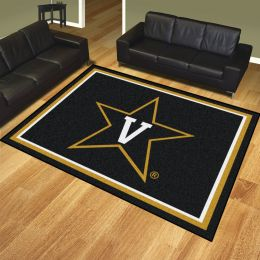 Vanderbilt  University Commodores Area Rug – 8 x 10