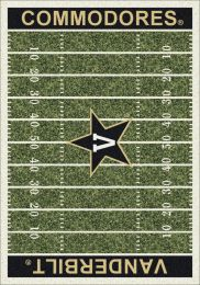 Vanderbilt Commodores Home Field Nylon Area Rug