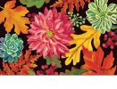 Indoor & Outdoor Vibrant Autumn Mix Insert Doormat-18x30