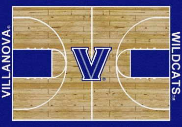 Vandy Wildcats Basketball Home Court Nylon Area Rug