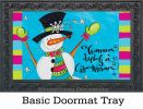 Indoor & Outdoor Wanna Build Insert Doormat - 18x30