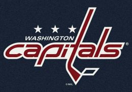 Washington Capitals Spirit Area Rug - NHL Hockey Logo