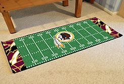 Washington Redskins Quick Snap Runner Mat - 29.5 x 72