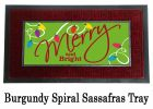 Sassafras Merry & Bright Switch Insert Doormat - 10 x 22