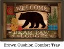 "Indoor & Outdoor Welcome Bear Insert Doormat - 18"" x 30"""