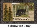 Indoor & Outdoor Welcome Bears Insert Doormat - 18x30