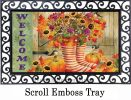 Indoor & Outdoor Welcome Boots Insert Doormat - 18x30