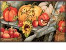 Indoor & Outdoor Welcome Fall Pumpkins MatMate Doormat