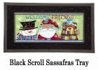 Sassafras Welcome Friends Switch Insert Doormat - 10 x 22