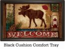 "Indoor & Outdoor Welcome Moose Insert Doormat - 18"" x 30"""