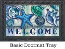 Indoor & Outdoor Welcome Shells Insert Doormat-18x30