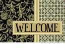 Indoor & Outdoor Welcome Thistle Insert Doormat - 18 x 30