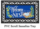 Sassafras Welcome to Our Nest Mat - 10 x 22 Insert Doormat