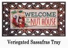 Sassafras Welcome to the Nut House Switch Mat - 10 x 22 Insert