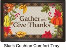 Indoor & Outdoor Whimsical Turkey MatMates Doormat