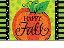 Indoor & Outdoor Whimsy Pumpkin Insert Doormat - 18x30