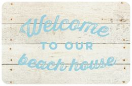FoFlor Whitewash Welcome Mat - Doormat 24 x 36