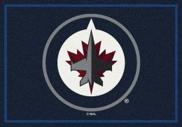 Winnipeg Jets Spirit Area Rug - NHL Hockey Logo