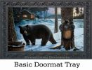 Indoor & Outdoor Winter Bear Insert Doormat - 18x30
