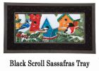 Sassafras Winter Birds Switch Insert Doormat - 10 x 22