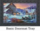 Indoor & Outdoor Winter Cabin Insert Doormat - 18x30