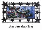 Sassafras Winter Chickadee Friends Mat - 10 x 22 Insert Doormat