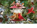 Indoor & Outdoor Winter Feeder Insert Doormat - 18x30