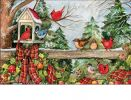 Indoor & Outdoor Winter Gathering MatMate Doormat-18x30