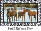 Indoor & Outdoor Winter Horse MatMate Insert Doormat-18x30