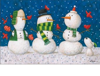 Indoor & Outdoor Winter Pals MatMate Insert Doormat-18x30