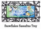 Sassafras Winter Welcome Switch Doormat - 10 x 22