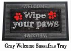 Sassafras Wipe Your Paws Switch Mat - 10 x 22 Insert Doormat