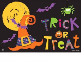 Indoor & Outdoor Witches Halloween MatMate Doormat - 18x30